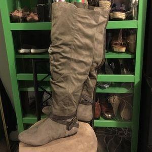 546ac69579cb JustFab Shoes - OTK Kirbey Boots (Wide Calf)