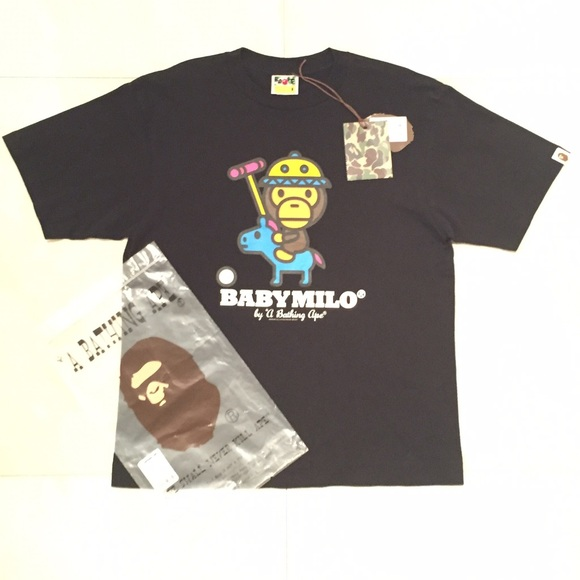 4d0b8ecf3 BAPE Shirts | Authentic Baby Milo By A Bathing Ape T Shirt | Poshmark