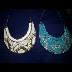 Two beautiful necklaces.