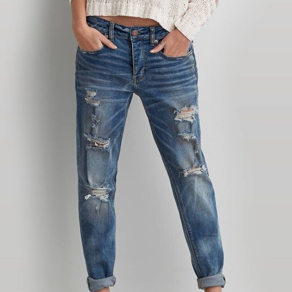 db1a17565d6 American Eagle Outfitters Jeans | American Eagle Boy Crop | Poshmark