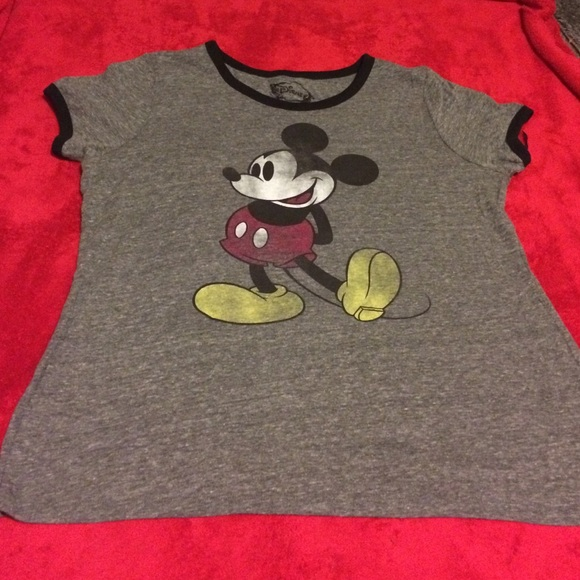 b7b9535a4b1 Forever 21 Tops - Grey Mickey Mouse shirt- plus size size 3x