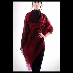 Coming soon!! Hand Dyed Natural Silk Poncho Scarf