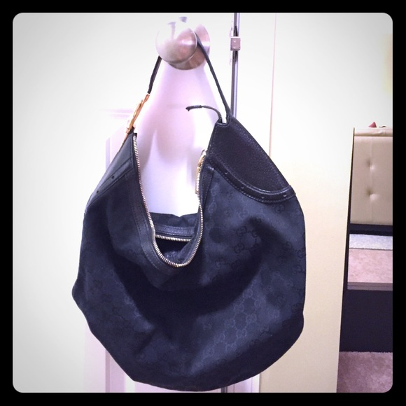 222968474b1d3a Gucci Bags   Monogram Slouch Bag   Poshmark
