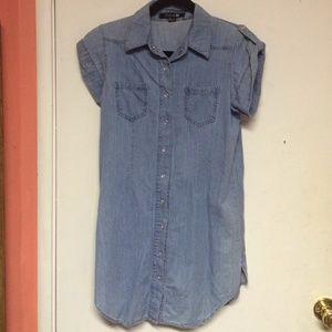 Dresses & Skirts - ❌ SOLD ❌ Denim dress/top