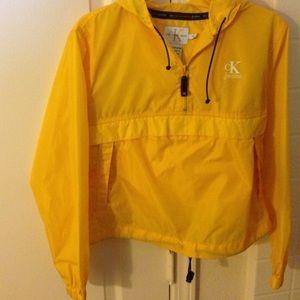 RARE Calvin Klein Vintage rain jacket