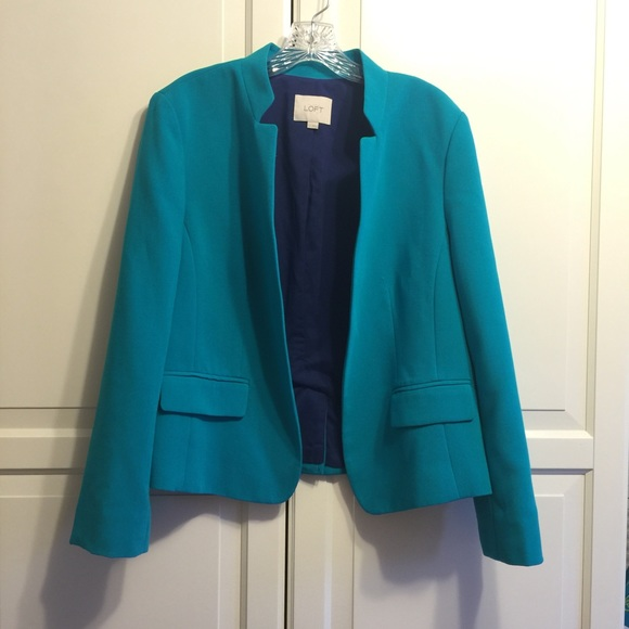 Loft Loft Pop Color Jacket Blazer From Kim S Closet On