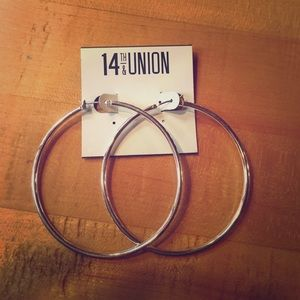 14th & Union Jewelry - BRAND NEW Hoop Earings