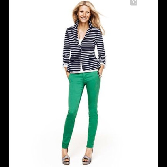 68% off Express Denim - SOLD Express green skinny jeans legging 6 ...