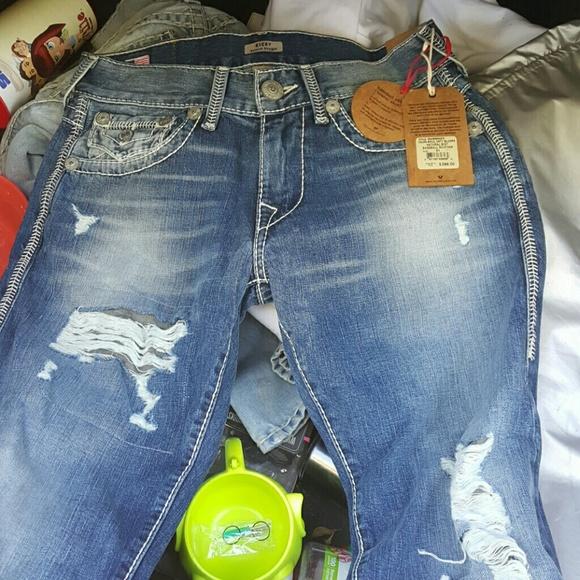 true religion jeans brand new baseball stitched poshmark