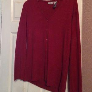 Liz Claiborne Dresses & Skirts - 🌲🎄Beautiful red sweater & plaid skirt