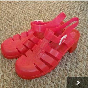 American Apparel Shoes Juju Jelly Sandal Poshmark