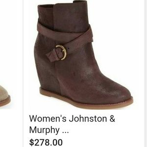 Johnson & Murphy Shoes - Brand new Johnson & Murphy booties NWT NIB