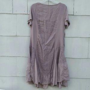 Couleur Lin - Couleur Lin Taupe Cristina Linen Dress from Marjorie\'s ...