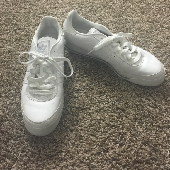 le adidas orion whitewhite 105 mens tennis poshmark