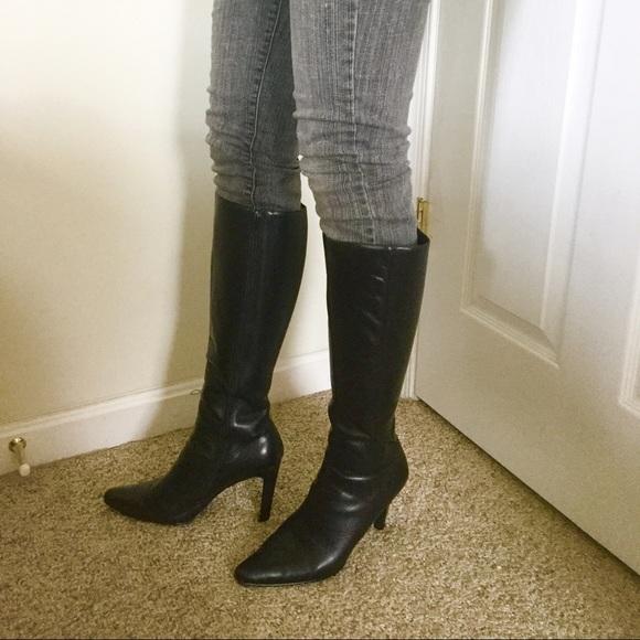 Newport News Shoes - 🌹 Newport News Black Boot Heels🌹