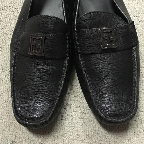 Fendi Shoes | Fendi Loafers Black