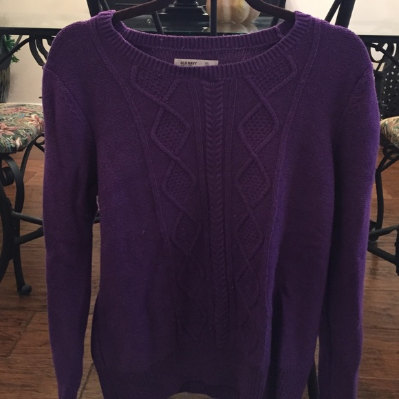 Old Navy - SALE!! Old Navy Purple Sweater from Kristen's closet on ...