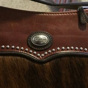 American West Handbags - American West Horse Hair and Leather bag