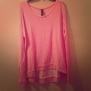 Sweaters - Pink slouchy sweater