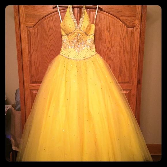 Yellow Prom Dresses Mori Lee