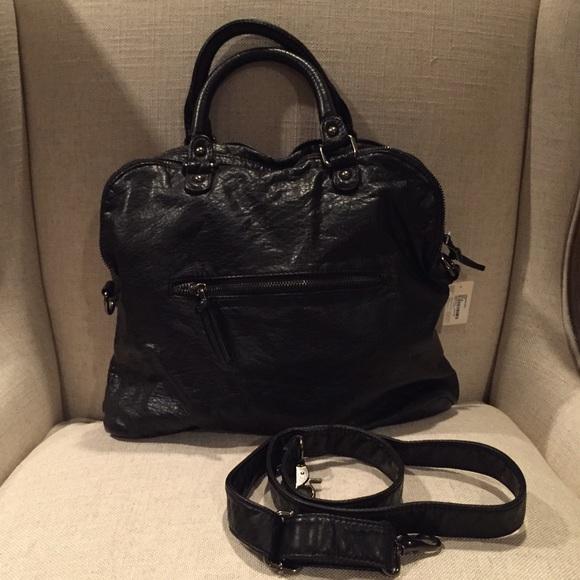 46% off Forever 21 Handbags - BLaCk NWT large SLOUCH handbag ...