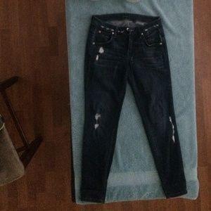 Bebe boyfriend jeans size 26