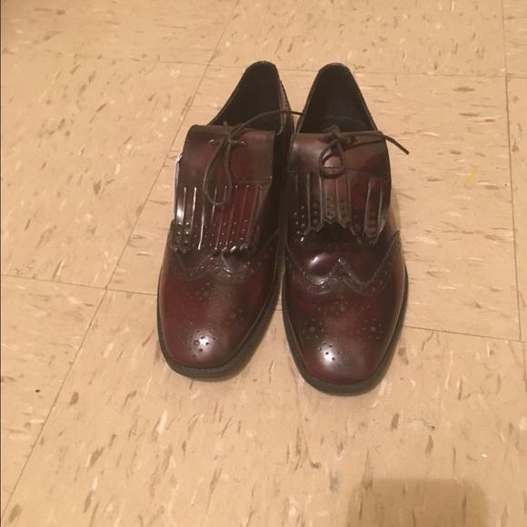 613b6cf5b8b Zara Brown Leather Tassel Loafer (Sz 8)