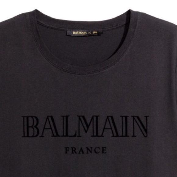 9aaa1ea9 Balmain Tops | Brand New Women T Shirt | Poshmark