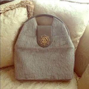 Handbags - ✨🎉HOST PICK🎉✨1950's VINTAGE RABBIT FUR HANDBAG