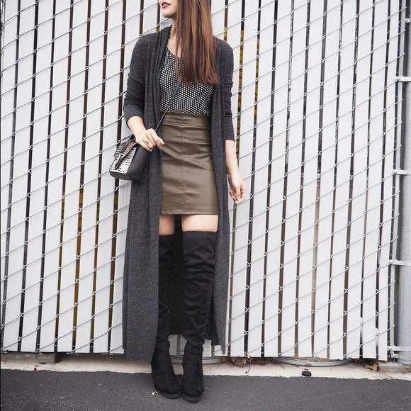 Calvin Klein Over The Knee Boots