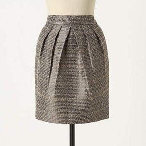 Anthropologie Avant-Tweed Skirt by Tabitha