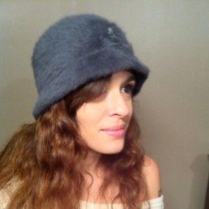 Kangol Accessories - 💋 NWOT Gray Furgora Kangol Bin Hat
