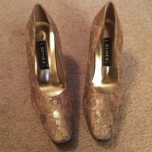 J. Renee Shoes - J. REENEE' Glitter Heels