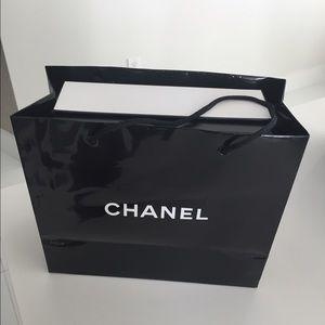 Chanel shopping bag.