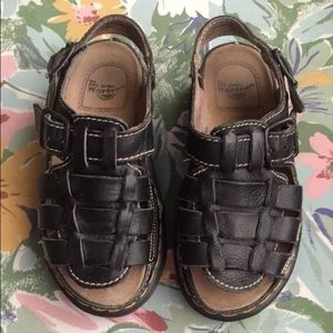 Black Dr. Martens Sandals Size US 6
