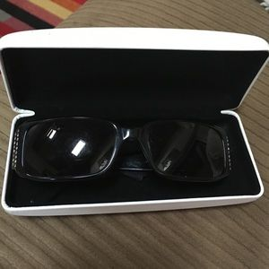 Versace Sunglasses with gems in Black