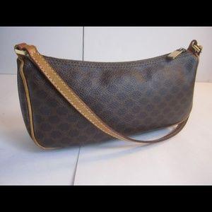 SOLD! Celine Macadam Pochette Handbag