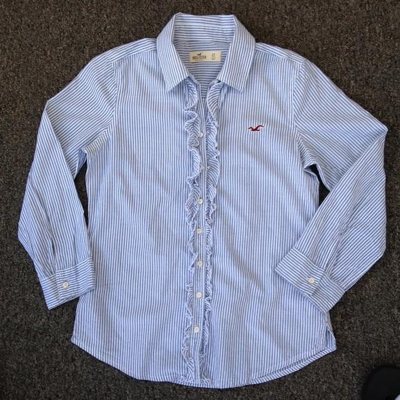 hollister dress shirts