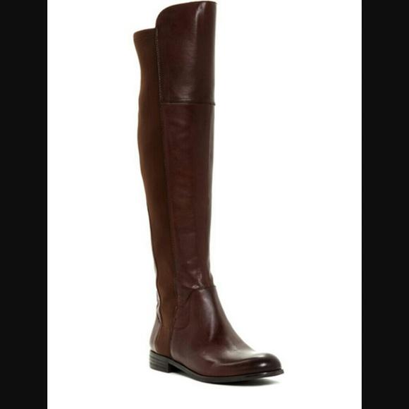 55 off franco sarto shoes franco sarto motor boots from for Franco sarto motor over the knee boots