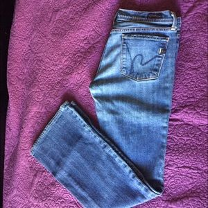 New CITIZENS OF HUMANITY Denim Jeans