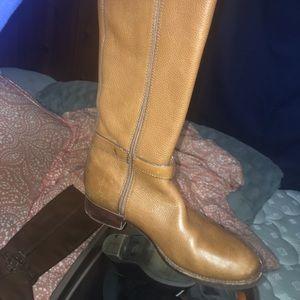 8f2d08d20fe0 Tory Burch Shoes - Tory burch Amanda riding boots brown 9