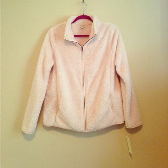 59% off Sonoma Jackets & Blazers - Fuzzy Fleece Jacket from ...