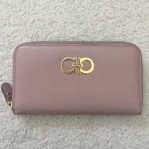 Ferragamo Handbags - Authentic Ferragamo zip around wallet
