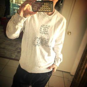 Markus Lupfer Tops - Markus Lupfer OK COOL sweater