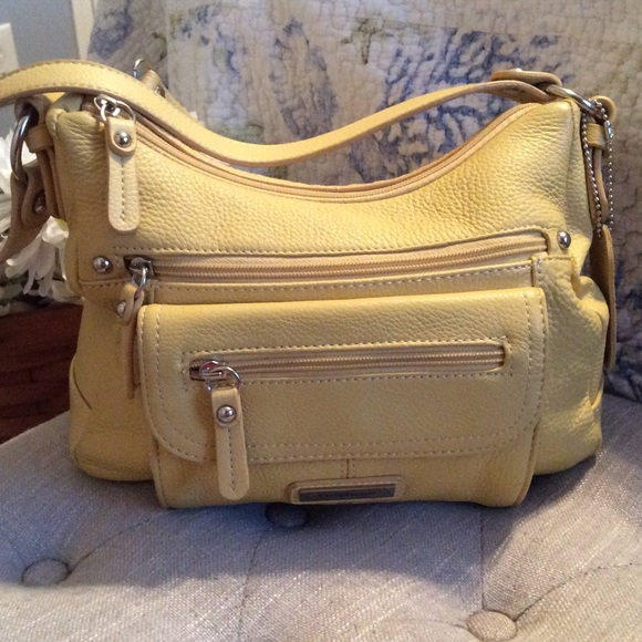Genuine Leather Yellow Gold Croft Barrow Purse
