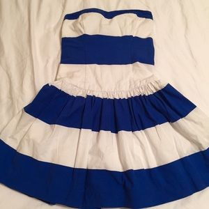 Abercrombie & Fitch Dresses & Skirts - Abercrombie & Fitch Blue/White Stripe Dress