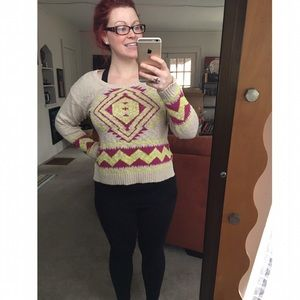 Flying Tomato Sweaters - •Aztec sweater•
