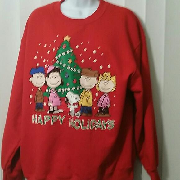 Peanuts Tops Charlie Brown Christmas Sweatshirt Poshmark