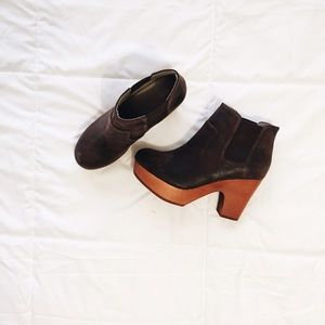 faryl robin clog + free people boots bundle