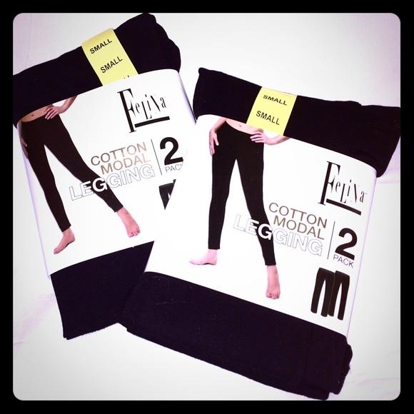 cfce84589ff7bc Felina Pants | Brand New Cotton Modal Leggings | Poshmark